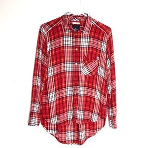 American Eagle Boyfriend Fit Super Soft Flannel